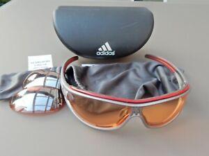 Adidas Sportbrille Evil eye, gebraucht- Artikel-Nr. A 126  6057 S L - Größe L