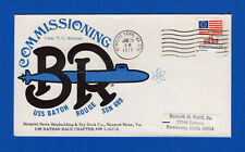 USS Baton Rouge SSN-689 Commission Jun 25 1977 - USS Nathan Hale Chapter 68 USCS
