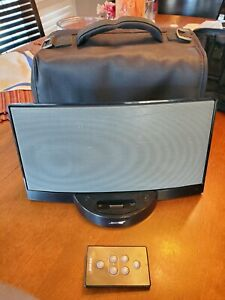 Rare Bose SoundDock Digital Music System with Travel Bag & Remote No Power Cord!
