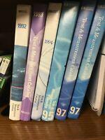 Vintage HP Agilent Test & Measurement Catalog select your year