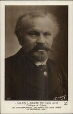 French Writer Jules LeMaitre c1915 Real Photo Postcard