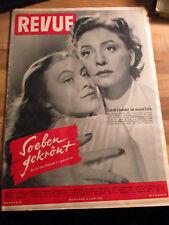 Revue #23 vom 06.06.1952 Zarah Leander Queen Elisabeth II. Margot Hielscher