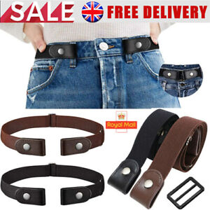 Buckle-free Hassle Comfortable Invisible Belt for Jeans No Bulge Elastic Unisex