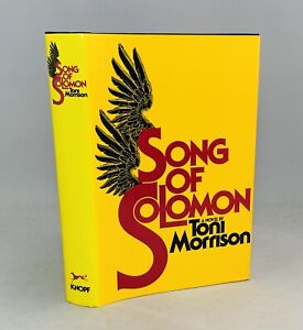 Song Of Solomon-Toni Morrison-SIGNED!!-INSCRIBED!!-BCE-11th Printing-VERY RARE!!
