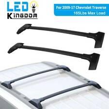 For 2009-17 Chevrolet Traverse Top Roof Racks Aluminum Cross Bars W/o C Channel