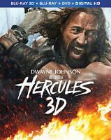Hercules 3D (3-Disc Set) 3D+Blu-ray+DVD+Digital - Dwayne Johnson - Brand New!!!
