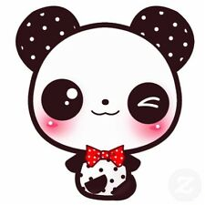 Panda kawaii box collana orecchini portachiavi bracciali resina fimo pennolenci