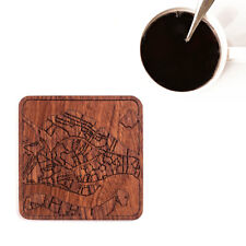 Venice map coaster One piece  wooden coaster Multiple city IDEAL GIFTS