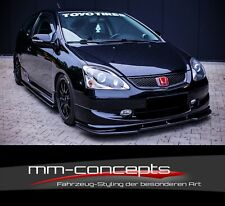 Cup Spoilerlippe CARBON für Honda Civic EP3 MK7 R/S Frontspoiler Spoilerschwert