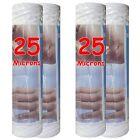 """Cartouche filtre à eau 10"""" 25 µm bobinée sédiments-particules-boue (lot de 4)"""