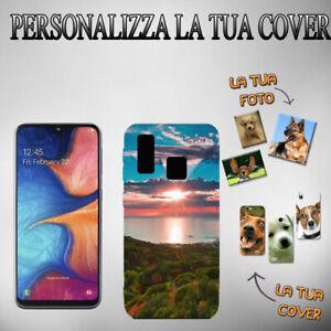 Crea La tua Cover Personalizzata In Gomma Per Telefono Smartphone Samsung A20S