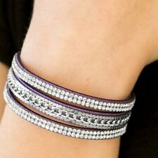 Paparazzi - Unstoppable - Purple Wrap Bracelet