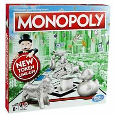 Hasbro Monopoly Fast Dealing Family Property Trading Board Game