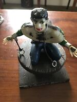 1963 Aurora HUNCHBACK OF NOTRE DAME Universal Monsters Model Kit BUILT UP