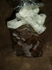 CHOCOLATE FUDGE BROWNIES X 30 Candle wax melts tarts hearts + FREE SAMPLER