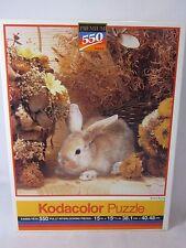 Kodacolor ROSE ART 550 pièce PUZZLE MARRON LAPIN SCELLÉ 1994 99999