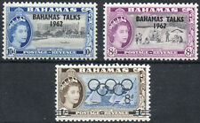 Bahamas QEII 1962  Bahamas Talks 1964 Olympic Games mint stamps MNH