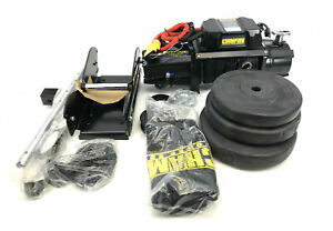Champion 12,000-lb. Truck/SUV Synthetic Rope Winch Kit with Speed Mount #U0754