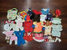 Vintage Cabbage Patch Kids Doll Clothes Dresses Outfits Shoes Lot