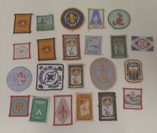 Scout badges Jamboree 1960s 1970s and 1980s