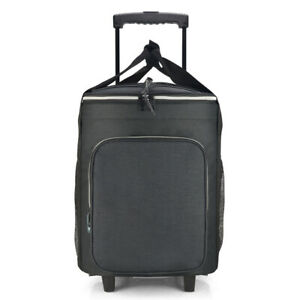 EAGLEMATE 36L Foldable Rolling cooler bags Wheeled Soft Cooler for Picnic,Beach