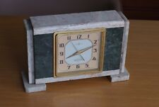 Artdeco, Modernist Marble Clock By Seikosha, Made In Japan, Very Rare, Seiko