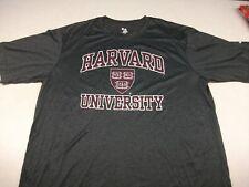 New Badger Sport Harvard Crimson University Dri Fit Type Shirt X-Large