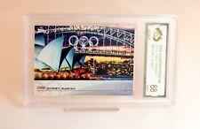 2012 Topps Olympics Card Graded Mint