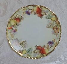 6 Platten mit schönen Früchten gemalt, Royal Rudolstadt Prussia 1906-1931