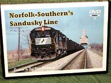 "n055 TRAIN VIDEO DVD ""NORFOLK SOUTHERN'S SANDUSKY LINE"""