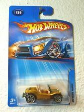 2005 Hot Wheels MEYERS MANX #139 Gold w/ 6sp Co-Mold Wheels