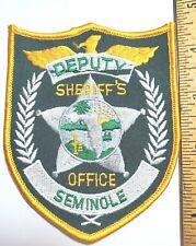 Sheriff's Deputy Seminole County Florida Police Patch