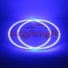160mm LED Blue Halo Rings/Angel Eyes for Automotive Headlight Housing Retrofit