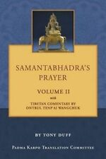 Samantabhadra's Prayer Volume II by Duff, Tony -Paperback