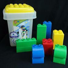 Children's Lego Quatro Building Blocks/Bricks 20PC Set w Storage Container #5355
