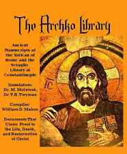 Archko Library: apocrypha, sacred texts, softcover, ancient manuscript, history