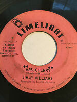 "RARE POPCORN SOUL 45/ JIMMY WILLIAMS ""MRS. CHERRY"" / ""KEOTO'TO""     HEAR"