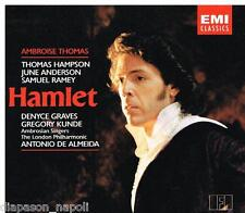 Thomas: Hamlet / Almeida, Hampson, Anderson, Ramey - CD Emi