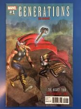 GENERATIONS MIGHTY THOR AND UNWORTHY THOR #1  1:25 VARIANT NM/M