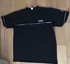 More details for metallica embroidered ninja logo v neck heavy weight usa t shirt x large new