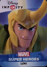 Disney Infinity 2.0 Marvel Super Heroes Avengers Thor Loki Web Code Card