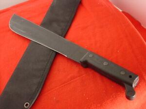 """Ontario USA Made USA 18"""" Fixed Blade Survival Machete Knife"""