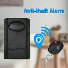 New Wireless Vibration Window Patio Door Caravan Alarm Free Warning Sticker