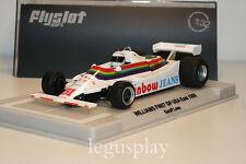 Slot car SCX Scalextric Flyslot F01105 Williams FW07 GP USA East 1980 Nº51