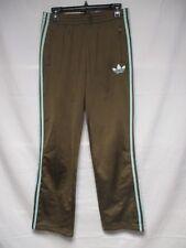 Pantalon ADIDAS rétro vintage marron bleu ciel Trefoil girl femme sport pant 38