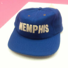 MEMPHIS TIGERS - NEW FOOTBALL HAT - BLUE FLAT BRIM  WOOL BLEND
