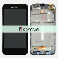 LCD Display Touch Screen Digitizer Frame For Alcatel One Touch Fierce 7024W 7024