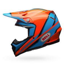 Bell Moto 9 Casco Spark NARANJA/AZUL MX MOTOCROSS BMX Dirt Bike carrera venta