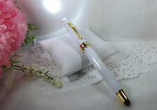 3 in 1 Royale Excel Tech White Lighted Ballpoint Pen & Stylus HIGH QUALITY