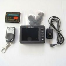 "Mini spy Button Camera and Portable 2.5"" screen Pocket Video DVR Recording"